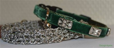 swarovski cat collar