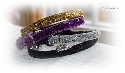 sparkling breakaway cat collar